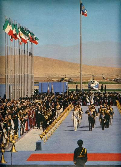 THE 2,500 YEAR CELEBRATION OF IRAN'S MONARCHY